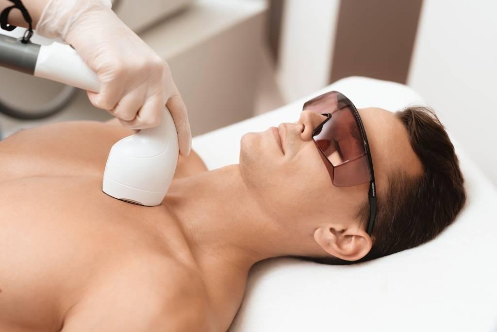 Men's Laser Hair Removal Treatment - Abilene, TX